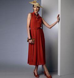 Vintage Vogue, Misses' Dress and Belt, V8973 http://voguepatterns.mccall.com/v8973-products-47950.php?page_id=174