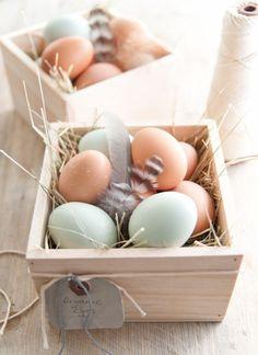 Ovos de Páscoa em tons pastel | Eu Decoro