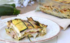 Gratin de courgettes au jambon WW, un bon plat gratiné, très parfumé, facile et rapide à réaliser pour un repas convivial et gourmand.
