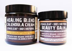 We Were Raised By Wolves: Currently Loving: Lyonsleaf 100% Natural Beauty Balm and Healing Blend Calendula Cream