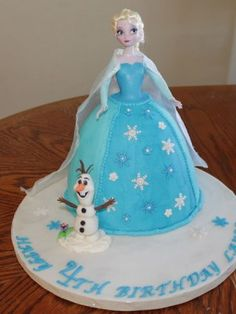 disney+frozen+doll+cake | ... frozen doll cake with olaf i was inspired by another frozen cake that