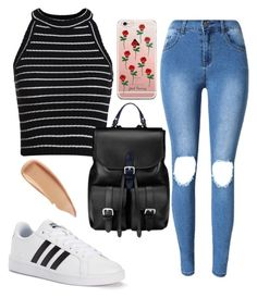 """Rehearsals"" by kittycatzaf on Polyvore featuring adidas, Aspinal of London and Sisley"
