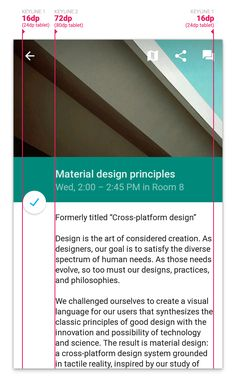 Material Design on Android Checklist | Android Developers Blog