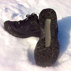 LAUFSCHUHTEST ICEBUG DTS2-L Bugrip GTX Trainingsläufe auch im Winter trittsicher und trockenen wie warmen Fußes absolvieren. #Laufen #Walken #Joggen #Trittsicherheit #Standsicherheit #Spikes #Glätte #Schnee #Eis #Winter #Grip #Icebug
