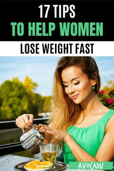 Women try all kinds of crazy things to lose weight, but most of them don't really work. Diet and exercise really are the best ways to shed pounds and keep them off, but it doesn't hurt to have a few science-backed weight loss tips for women to help you out. #avocadu #weightloss #weighlossforwomen Weight Loss For Women, Weight Loss Plans, Fast Weight Loss, Weight Loss Tips, How To Lose Weight Fast, Health And Wellness, Health Care, Drinking Hot Water, Control Cravings