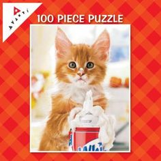 100 Piece Mini Jigsaw Puzzle | Avanti™ Mini Puzzles | animals,photography,mini_puzzles, Ceaco