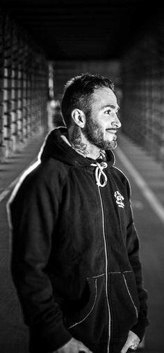Alex Jumelin portrait #rideGaston #Gaston #ride #rider #bmx #bmxlife #bmxflat #ridebmx #bmxfamily #noiretblanc #blackandwhite #tattoo #tatouage pic : SevenOneThree