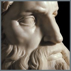 Moses, detail. The Moses (c. 1513–1515) is a sculpture by the Italian High…