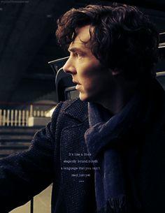 SHERLOCK (BBC) ~ Benedict Cumberbatch as Sherlock Holmes.