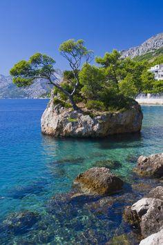 Brela Chorwacja - Fotogaleria Croatia, Amazing, Water, Travel, Outdoor, Places To Visit, Destinations, Viajes, Kunst