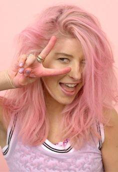 pink hair bitch!