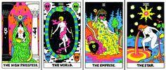 Hippie Painting, Stoner Art, Tarot Major Arcana, Painted Books, Hippie Art, Art Series, Psychedelic Art, Art Tutorials, Illustrators
