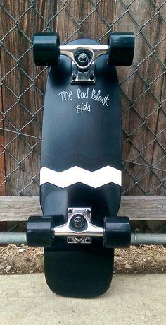Longboard cruiser hand-finished in America surf inspired street skateboard weatherized strand locker board. Longboard Cruiser, Pintail Longboard, Longboard Decks, Skateboard Decks, Carver Skateboard, Skateboard Design, Skates, Skate Bord, Skate Decks
