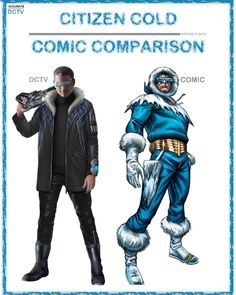 "39 Likes, 4 Comments - • Accurate.DCTV • dctv fanpage (@accurate.dctv) on Instagram: ""• Citizen Cold - Comic Comparison • Like most people, I have been wanting Cold to have a costume,…"""