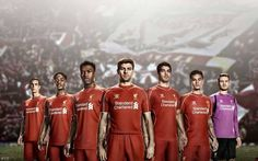 Liverpool FC's new kit for 14/15 season