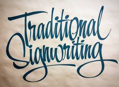 By Jeff Marshall Lettering Fonts Design, Brush Lettering Worksheet, Script Lettering, Chalk Typography, Typography Drawing, Painted Letters, Hand Painted Signs, Calligraphy Signs, Calligraphy Tutorial