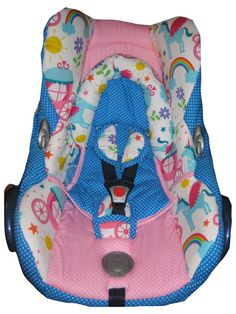 Babyschalenbezüge - Ersatzbezug Maxi Cosi Cabriofix Babyschalenbezug - ein Designerstück von me-kinderkleidung-und-ersatzbezuege bei DaWanda