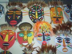 Resultado de imagem para MASCARAS AFRICANAS