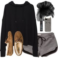 Comfy by noellexox on Polyvore featuring rag & bone/JEAN, Abercrombie & Fitch, UGG Australia, Kate Spade, C.O. Bigelow, women's clothing, women's fashion, women, female and woman