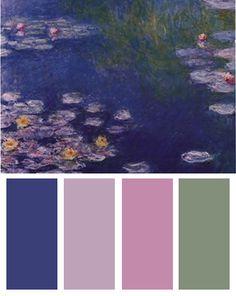 Google Image Result for http://blog.bandagedear.com/wp-content/uploads/2012/05/waterlillies-color-palette.jpg