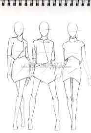 Image result for easy to draw fashion models