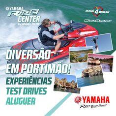 Já conhecem o Yamaha RiDE Center? Urbanização Industrial Pateiro Lagoa, Portimão Info: +351 917 999 830
