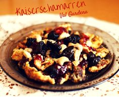 Typical sweet of Val Gardena...Kaiserschmarren! You've ever tasted? Would you the recipe? Follow us in Facebook and soon you'll find it!
