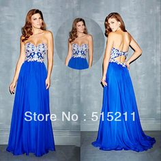 prom dresses 2014 blue open back mallorys prom dress