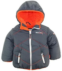 Big Chill Little Boys' Quilted Puffer Jacket with Hood * Additional info @