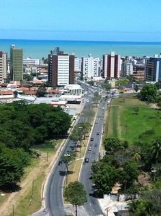 """See 1402 photos and 384 tips from 30962 visitors to João Pessoa. """"One of the nicer places to do business in Brasil - beautiful beach directly in the. Rio Grande Do Norte, Routes, Paraiba, Somewhere Over, Street Photo, Over The Rainbow, Beautiful Beaches, Brazil, The Good Place"""