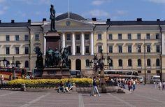 Neoclassical building, Helsinki, Finland
