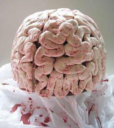 Brain hat using caulking