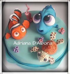 Baby Dory and Nemo  - Cake by Adriana D'Albora
