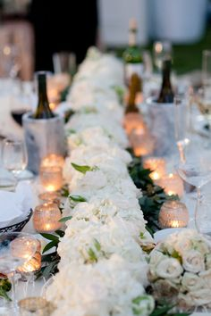 low and lush centerpiece | Nate Henderson
