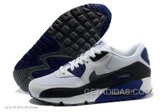 http://www.getadidas.com/nike-air-max-90-running-shoes-men-white-grey-royal-blue-christmas-deals.html NIKE AIR MAX 90 RUNNING SHOES MEN WHITE GREY ROYAL BLUE CHRISTMAS DEALS Only $69.00 , Free Shipping!