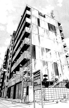 very beautiful manga landscapes - Perspective Drawing Lessons, Perspective Art, Landscape Drawings, Architecture Drawings, Urban Landscape, Landscape Art, Cityscape Drawing, Background Drawing, Urban Sketching