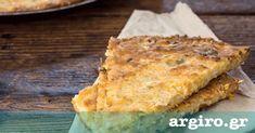 Μπατζίνα με κολοκύθι από την Αργυρώ Μπαρμπαρίγου   Παραδοσιακή πίτα από την Θεσσαλία. Εξωτερικά τραγανή σαν να έχει φύλλο και μέσα αφράτη και πεντανόστιμη