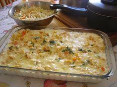 A Receita de Pavê de Frango com Mussarela é uma ótima opção para você variar a refeição da sua família sem gastar muito. Para fazer essa receita, você prec