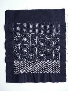 Was ist Sashiko? - Sashiko - My WordPress Website Sashiko Embroidery, Japanese Embroidery, Embroidery Art, Embroidery Patterns, Techniques Textiles, Embroidery Techniques, Boro, Motifs Textiles, Practical Gifts