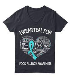 Food Allergy Awareness Shirt!