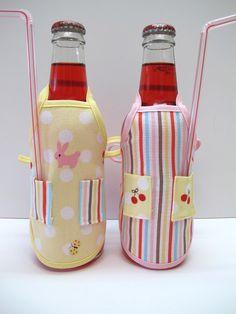 Bee In My Bonnet: Apron Bottle Cover Tutorial...