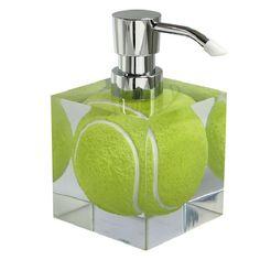 Zeepdispenser Tennisbal voor de liefhebber van tennis!