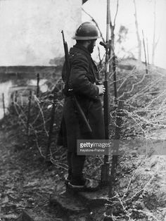 World War Two. French Soldier