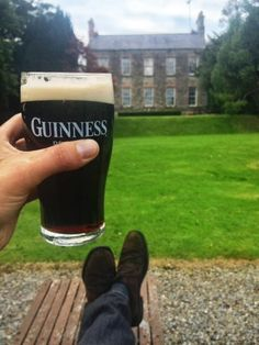 Arthur's Day gave them an excuse to put their feet up Guinness, Cottages, Attraction, Old Things, Seasons, Cabins, French Country Cottage, Cottage, Seasons Of The Year