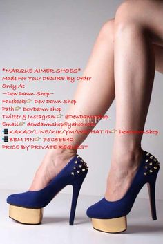 Made By Order! Size: 34-42 (Local Standard) Heels: - 3/7/9 cm [Pointed Shoes] - 3/7/10/13/15 cm [Others] Material: Glossy/Doff/Suede/Satin/Mirror/Soft Glitter/Big Glitter/Animal Print/Flower/Houndstooth/Lace/Stripes/Polkadots/Mix Additional Strap: Ankle Strap/T-Strap/Mary Jane-Strap/Cross Strap Additional Accessories: Cap/Kitty Bow/Candy Bow/Knott/Studs (Bow Position: Point/Side/Back/on the Strap) ~KAKAO/LINE/KIK/YM/WECHAT ID>DewDawnShop ~BBM PIN>75C5EE42 -I N D O N E S I A   O N L Y-