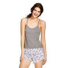 2e20ae4de0 Women's Sleep Shorts Set - Xhilaration™ Sleepwear Women, Lingerie  Sleepwear, Union Suit,