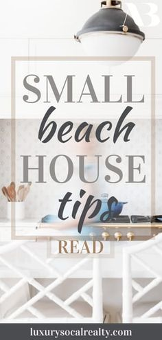 Read on to discover 11 reasons why investing in a tiny beach house is a great idea and search San Diego small beach homes for sale written by Real Estate Agent Joy Bender La Jolla, Tiny Beach House, Small Beach Houses, Beach Condo, Beach House Furniture, Beach House Decor, Home Decor, Tiny House Layout, House Layouts