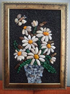 Flowers mosaic picture