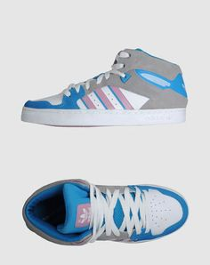 6958c5f4a5fd Adidas Women - Footwear - High-top sneaker Adidas on YOOX High Tops For  Girls