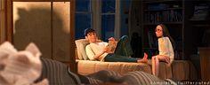Tadashi Hamada x Honey Lemon / TadaHoney | Disney's Big Hero 6 cute couple GIF | OTP